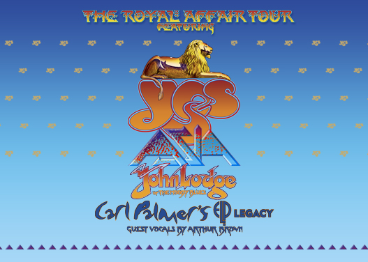 The Royal Affair: Yes, Asia, John Lodge & Carl Palmer's ELP Legacy at Hard Rock Event Center
