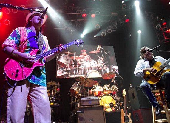 Santana at Hard Rock Event Center
