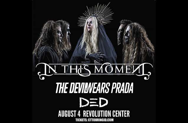In This Moment, The Devil Wears Prada & Ded at Hard Rock Event Center
