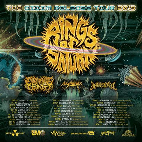 Rings of Saturn at Hard Rock Event Center