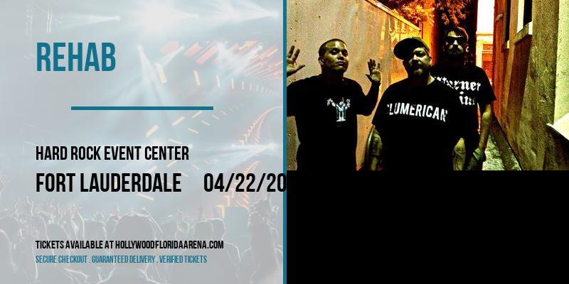 Rehab at Hard Rock Event Center
