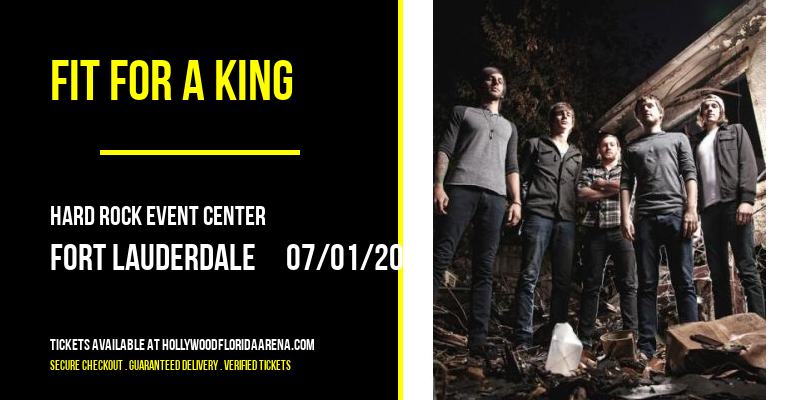 Fit For A King at Hard Rock Event Center