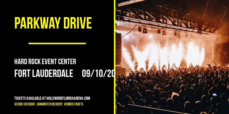 Parkway Drive at Hard Rock Event Center