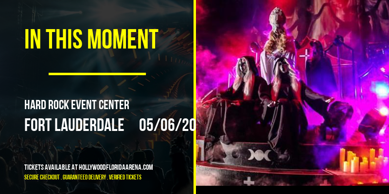 In This Moment [POSTPONED] at Hard Rock Event Center